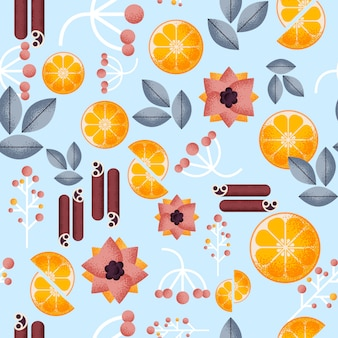 Hygge seamless pattern