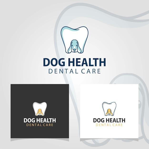 Hygiène dentaire du chien, inspirations de conception de logo