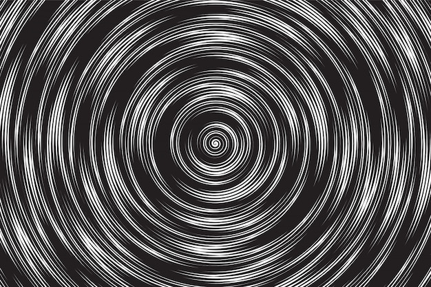 Hypnotic spiral vector abstrait