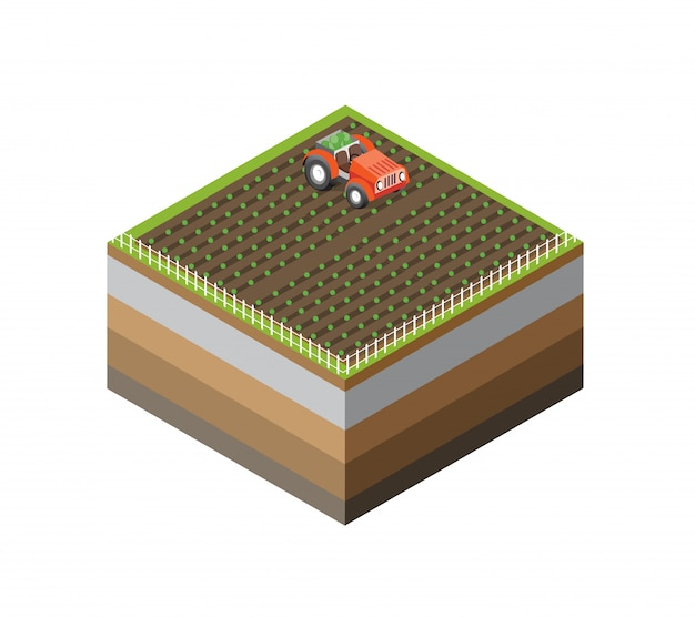 Icône 3d Naturel écologique Vecteur Premium