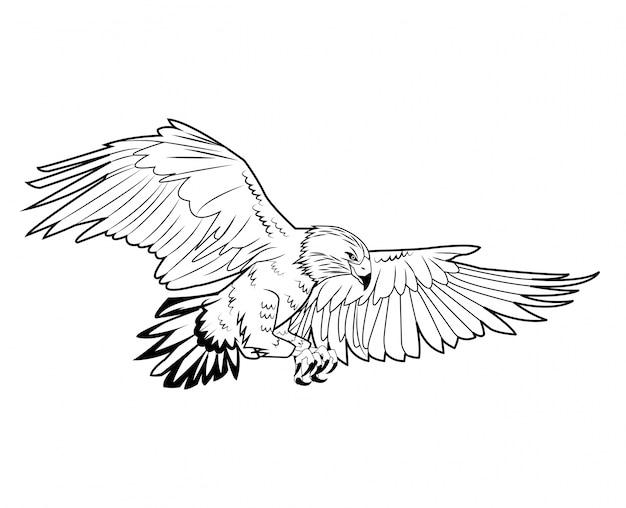 Icône d'aigle