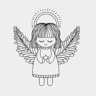 Icône d'ange