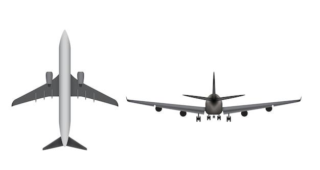 Icône d'avion isolé