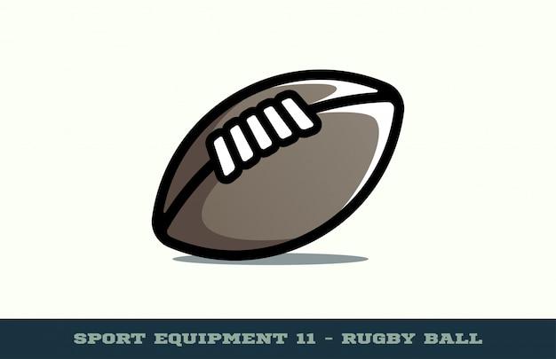 Icône de ballon de rugby