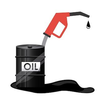 Icône de baril de pétrole