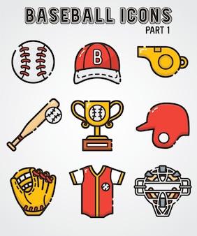 Icône de baseball