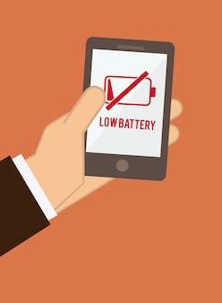 Icône de la batterie