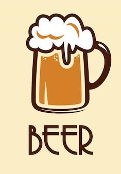 Icône de la bière