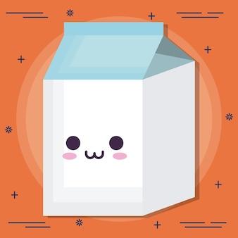 Icône de boîte de lait