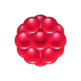 Icône de bonbons gelée de fruits rouges.