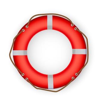 Icône de bouée de sauvetage. illustration