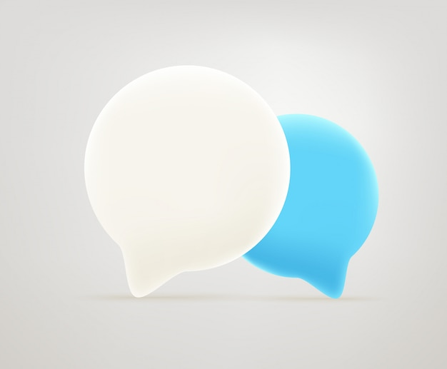 Icône de bulles de dialogue.