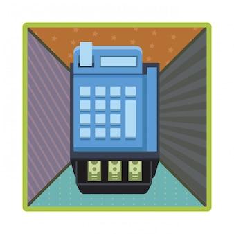Icône de caisse enregistreuse