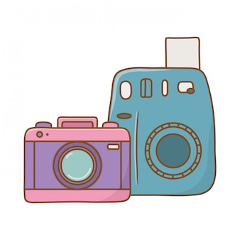 Icône de caméras photographiques