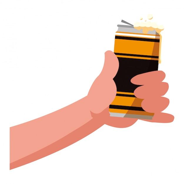 Icône de canette de bière