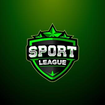 Icône de caractère logo esport