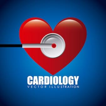 Icône de cardiologie