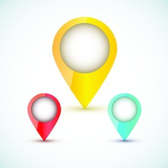 Icône de carte de localisation
