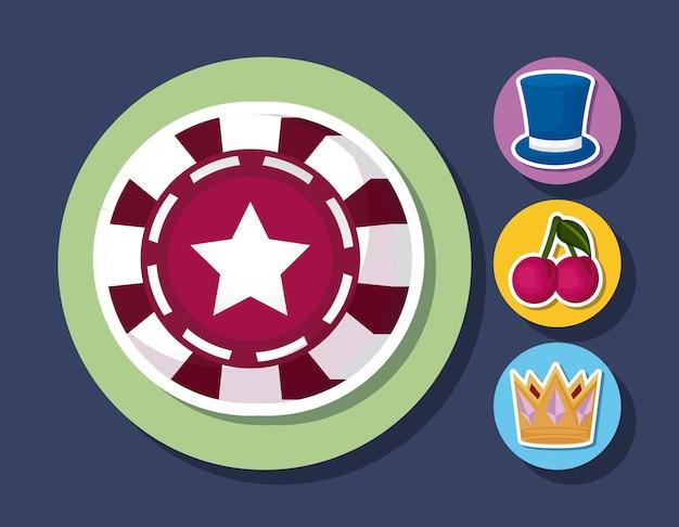 Icône de casino