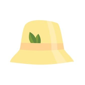 Icône de chapeau de sauna de bain maison. article pour le plaisir et la détente. illustration vectorielle de l'accessoire de bain de vapeur
