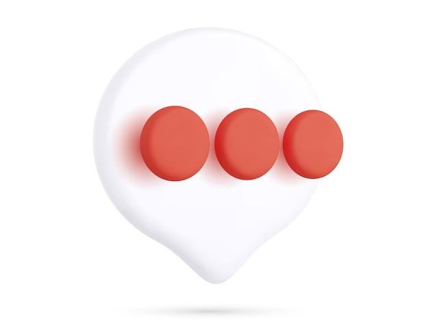 Icône de chat réaliste isolé sur fond blanc. illustration vectorielle