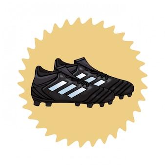 Icône de chaussures de football