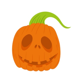 Icône de citrouille, illustration vectorielle de récolte thanksgiving