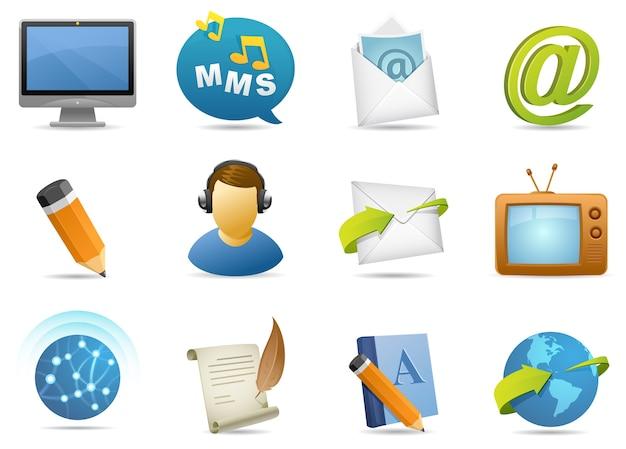 Icône de communication