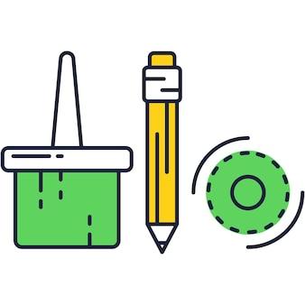 Icône de concept de vecteur d'intégration de technologie numérique. application pour les achats en ligne, la conception d'art, le pictogramme de symbole de devise électronique