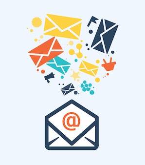 Icône de courrier électronique