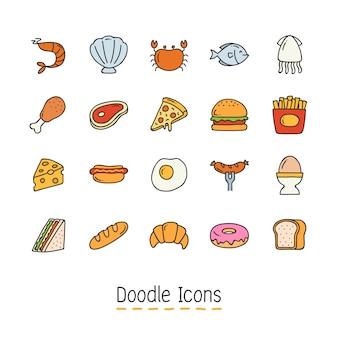 Icône de doodle dessiné à la main.