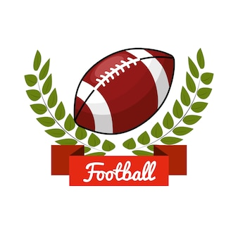 Icône du jeu de football emblème