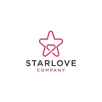 Icône du logo starlove