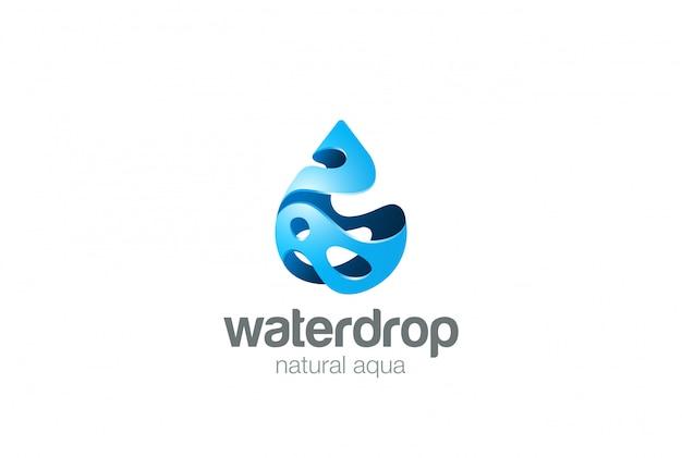 Icône du logo. style d'éclaboussure.