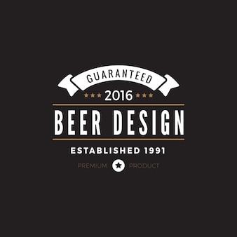 Icône du logo vintage label badge.