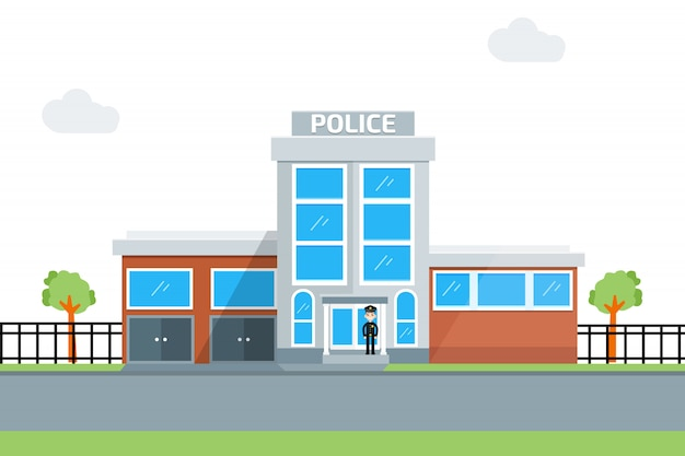 Icône du poste de police