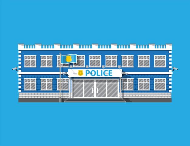Icône du poste de police.