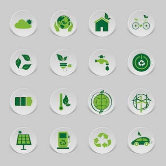 Icône environnementale