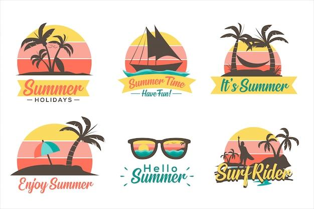 Icône d'été
