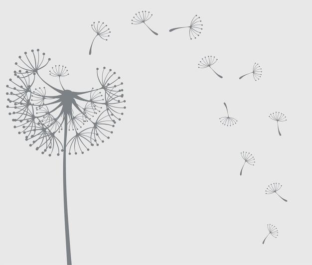 Icône de fleur de pissenlit