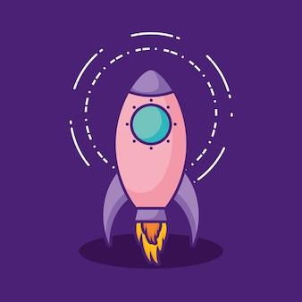 Icône de fusée spatiale