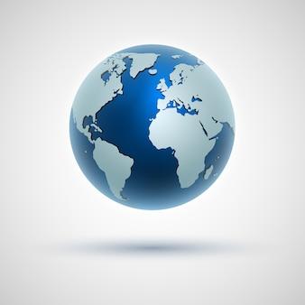 Icône de globe du monde.