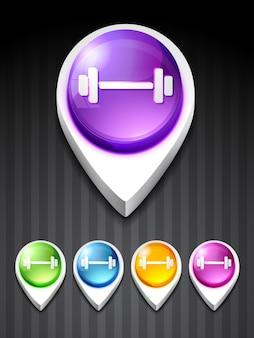 Icône de gym