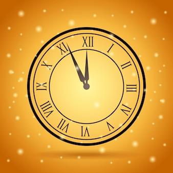 Icône de l'heure de l'horloge