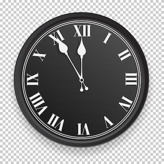 Icône d'horloge abstraite.