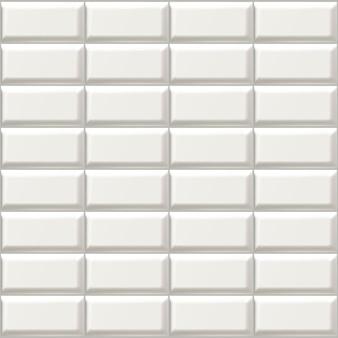 Icône isolé illustration de carreaux de salle de bain blancs.