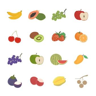 Icône de jeu de fruits