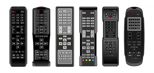 Icône de jeu réaliste isolé à distance tv.