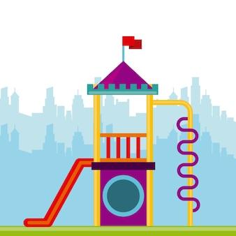 Icône de jeux pour enfants belle
