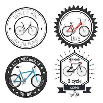 Icône de joint d'aventure de vélo